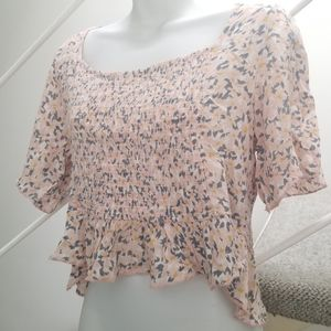 Patrons of Peace Floral Summer Top